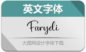 Farydi(英文字体)