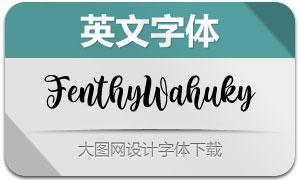 FenthyWahuky(英文字体)