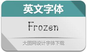 Frozen(英文字体)
