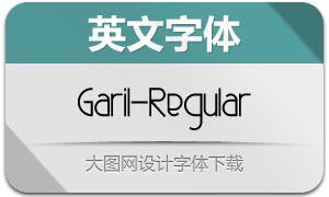 Garil-Regular(英文字体)