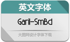 Garil-SemiBold(英文字体)