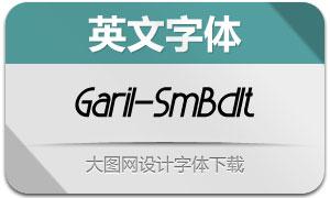Garil-SemiBoldItalic(英文字体)