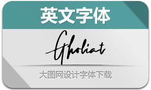 Gholiat(英文字体)