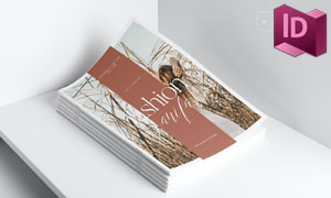 时尚周边主题杂志画册设计模板素材