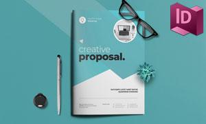 公司介绍项目提案画册模板设计素材