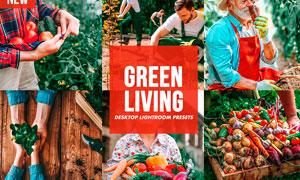 7款農產品綠色調效果LR預設