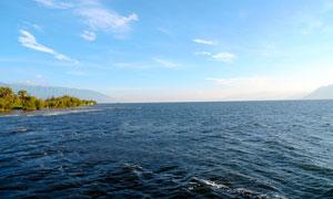 云南大理洱海美丽风光摄影图片