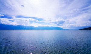 大理洱海湖泊美景摄影图片