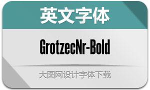 GrotzecNarrow-Bold(英文字体)