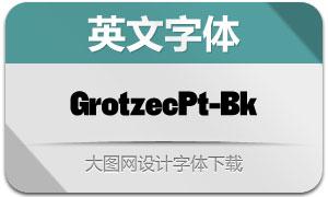 GrotzecPoster-Black(英文字体)