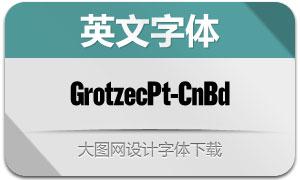 GrotzecPoster-CnBd(英文字体)