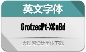 GrotzecPoster-XCnBd(英文字体)