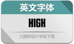High(英文字体)