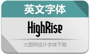 HighRise(英文字体)