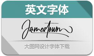 Jamestown(英文字体)