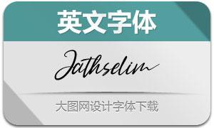 Jathselim(英文字体)