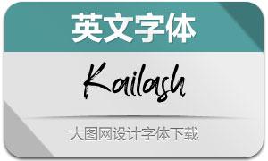 Kailash(英文字体)