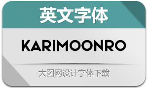 KarimoonRounded(英文字体)