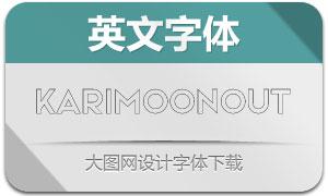 KarimoonOutline(英文字体)