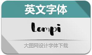 Lompi(英文字体)