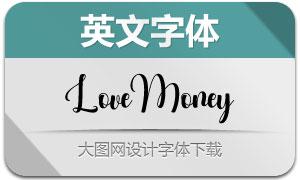 LoveMoney(英文字体)