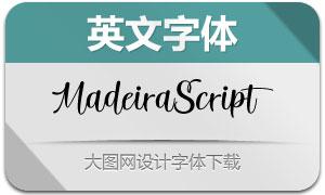 MadeiraScript(英文字体)
