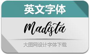 MadistaCalligraphy(英文字体)