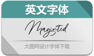 Maginted(英文字体)