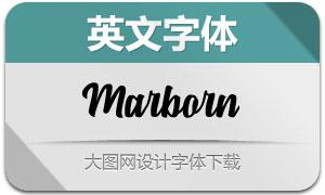Marborn(英文字体)
