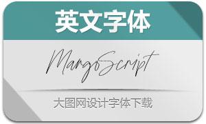 MargoScript-Regular(英文字体)