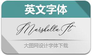 Marshella-Italic(英文字体)