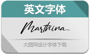 Marthina(英文字体)