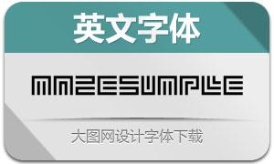 MazeSimple(英文字体)