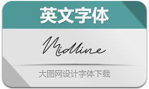 Midline(英文字体)