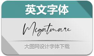 Migatmare(英文字体)
