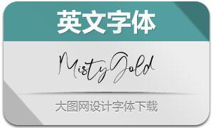MistyGold(英文字体)