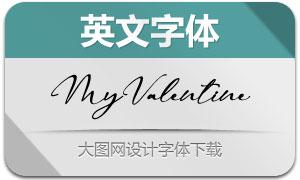 MyValentine(英文字体)