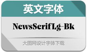 NewsSerifLarge-Black(英文字体)