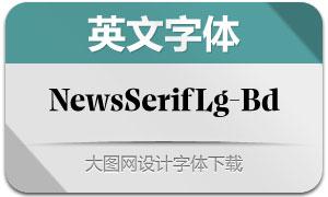 NewsSerifLarge-Bold(英文字体)