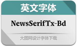 NewsSerifText-Bold(英文字体)