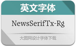 NewsSerifText-Regular(英文字体)