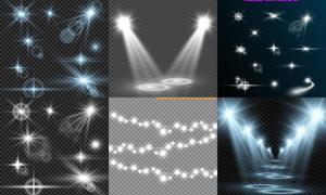 光源光效設計元素主題矢量素材集V46