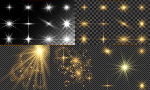 光源光效設計元素主題矢量素材集V47