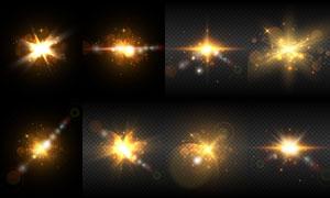 光源光效設計元素主題矢量素材集V50