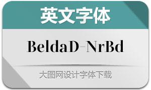 BeldaDidone-NormBold(Ó¢ÎÄ×Öów)