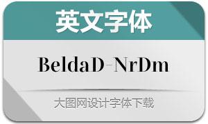 BeldaDidone-NrDm(英文字体)