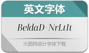 BeldaDidone-NrLtIt(英文字体)