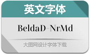 BeldaDidone-NrMd(英文字体)