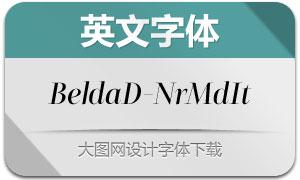 BeldaDidone-NrMdIt(英文字体)