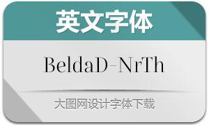 BeldaDidone-NrTh(英文字体)